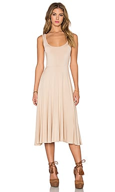 Clayton Rella Dress in Bare