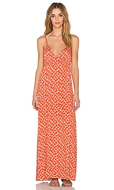 Clayton Marcy Dress in Red Flower