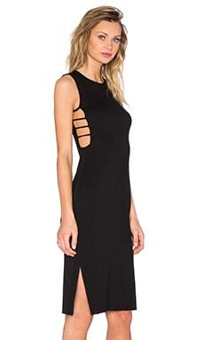 Clayton Junya Dress in Black