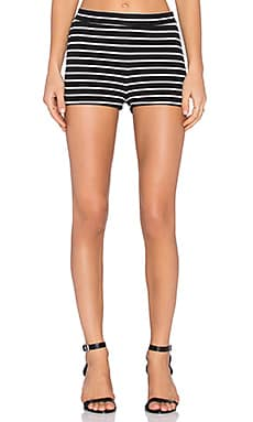 Clayton Mara Short in Striped French Terry