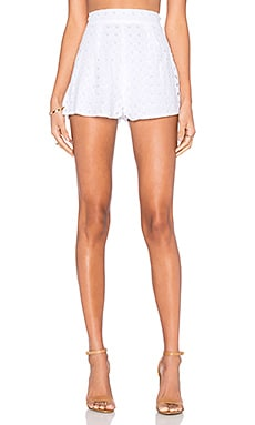 Indra Eyelet Short in Eyelet