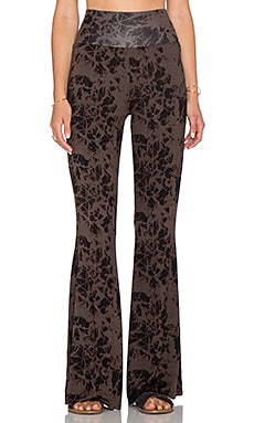 Clayton Kelly Flare Pant in Tie Dye