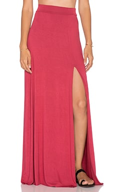 Clayton Sarah Maxi Skirt in Wine