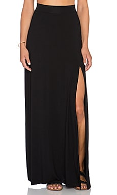 Clayton Sarah Maxi Skirt in Black