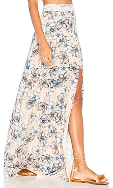 Sarah Skirt in Bare Floral Sketch