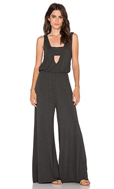 Clayton Celia Jumpsuit in Charcoal
