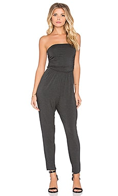 Clayton Jamie Jumpsuit in Charcoal