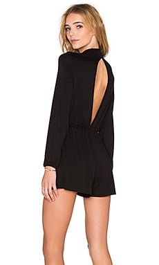 Clayton Marlene Romper in Black