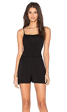 Clayton Nina Romper in Black