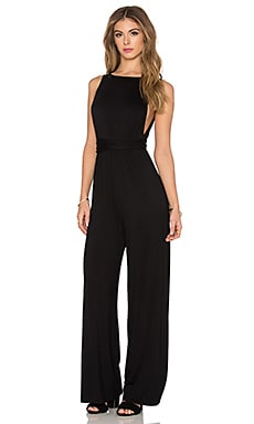 Clayton Cleo Jumpsuit in Black