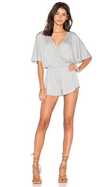 Karmina Playsuit in Heather Grey