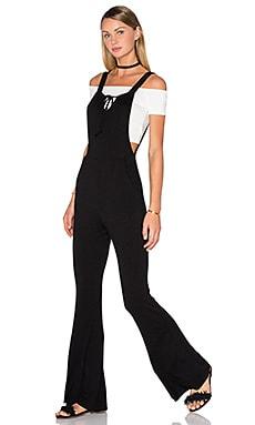 Clayton Maryjane Jumpsuit in Black