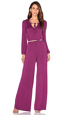 Mirah Jumpsuit in Claret