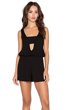 Clayton Celia Romper in Black