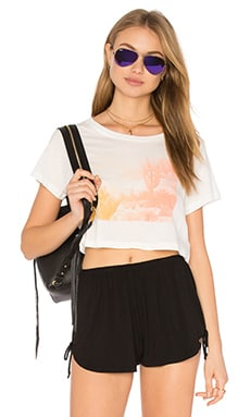 x REVOLVE Desert Cropped Tee in White