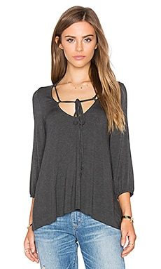 Fay Top in Charcoal