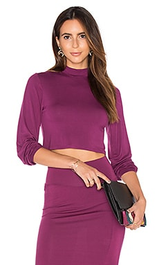 Clayton Lydia Top in Claret