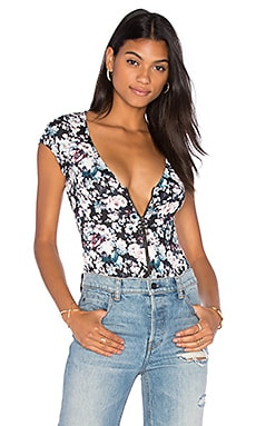 Clayton Ponte Liberty Bodysuit in Ponte