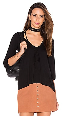 Clayton Fay Top in Black
