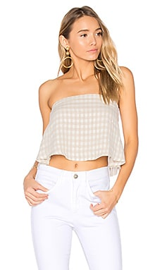 Gingham Joy Top