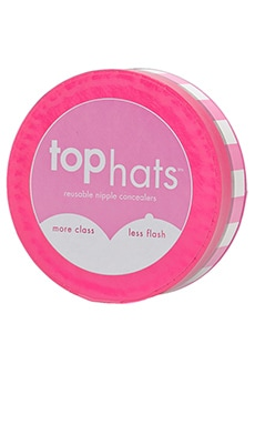 Commando Top Hats in Clear