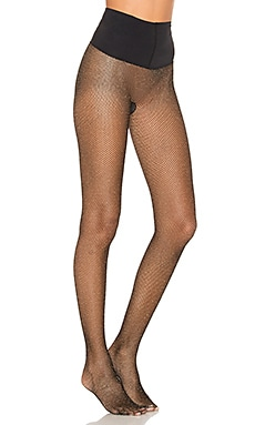 Glitter Fishnet Tight Commando $36