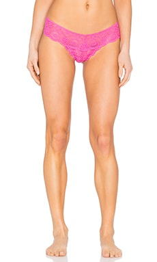 Commando Tulip Lace Tanga Thong in Palm Beach