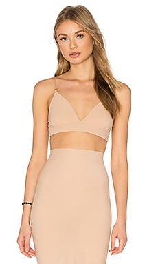 Commando Classic Triangle Bralette in True Nude