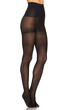 The Semi Opaque Control Tights in Black