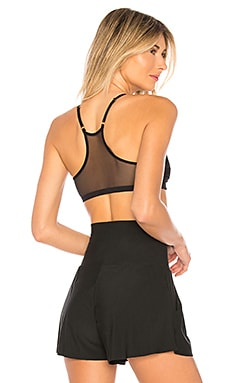 Chic Mesh Scoop Bralette Commando $72