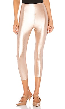 Perfect Control Faux Leather Capri Commando $88