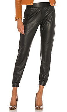 Faux Leather Jogger Commando $128