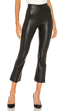 Faux Leather Cropped Flare Pant Commando $98 BEST SELLER