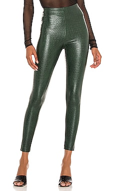 Faux Leather Animal Legging Commando $118