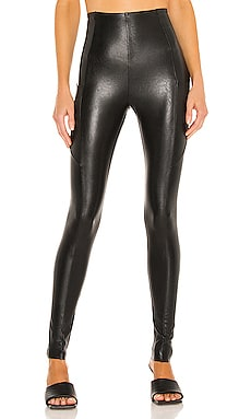 LEGGINGS FAUX LEATHER Commando $128 Durable