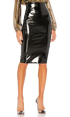Patent Midi Skirt Commando $98