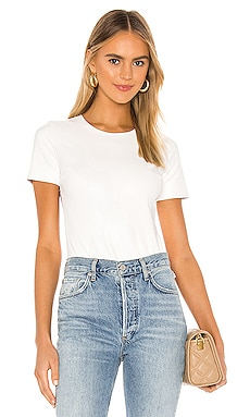 Faux Leather Tee Bodysuit Commando $98