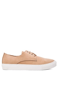 Common Cut Jack Sneaker en Cuir Tan