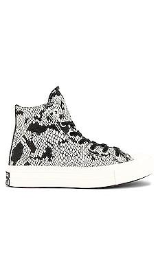 Chuck 70 Leather Snake Print Sneaker Converse $63