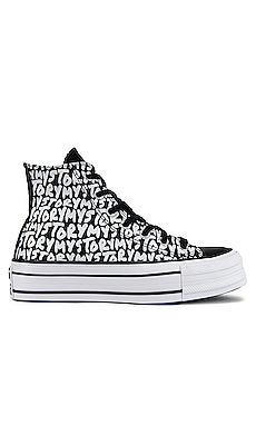 Chuck Taylor All Star Platform My Story Sneaker Converse $70
