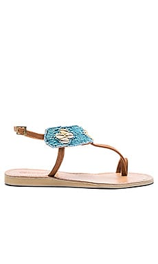 Bali Sandal in Turquoise