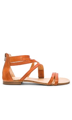 Mikonos Sandal in Brown