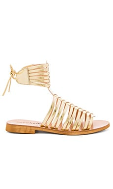 Ibiza Sandal in Gold