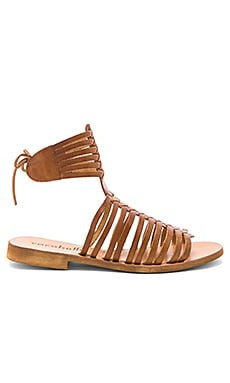 Ibiza Sandal in Brown