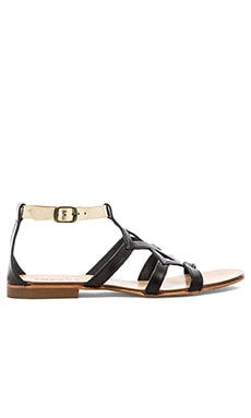cocobelle Mia Sandal in Black