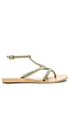 cocobelle Arrow Sandal in Gray