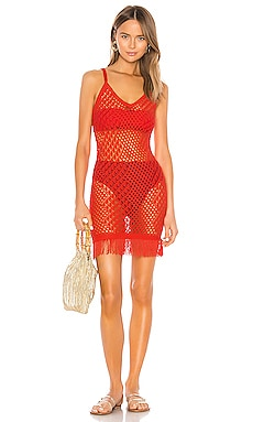 En Route Crochet Dress Camila Coelho $82