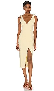 Aaliyah Midi Dress Camila Coelho $180 NEW
