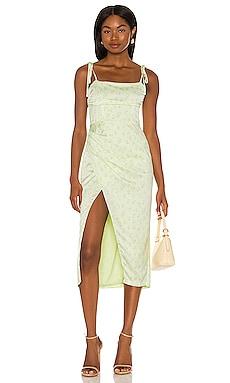 Bavel Midi Dress Camila Coelho $238 NEW