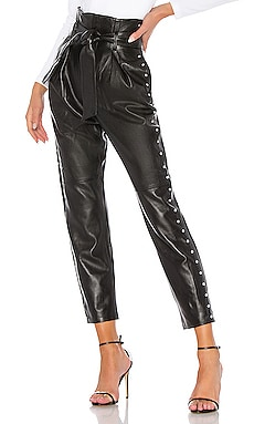 Cady Leather Pant Camila Coelho $498